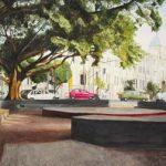 Colégio Arnaldo Aquarela s/ cartão 26 x 36 cm, 2002.