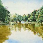 Parque Municipal Aquarela s/ cartão 26 x 36 cm, 2001.