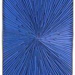 Marcos Coelho Benjamim Retângulo Azul Objeto em zinco pintado em azul 70 x 40 cm, Sem data