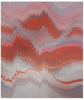 Abraham Palatnik, W-4, Acrílica sobre madeira, 68,5 x 53,3cm, 2003.