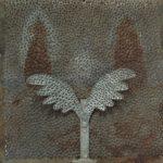 Marcos Coelho Benjamim Placa Zinco e Ferro 35 x 35 cm, 2000