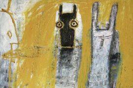 Marcos Coelho Benjamim Santo Daime OST 51 x 70 cm, sem data