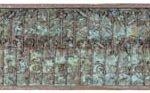 Fernando Lucchesi Caixa de cobre com Árvores da Vida Madeira e cobre.