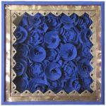 Fernando Lucchesi Friso de Flores Folha de cobre 210 x 16 cm.