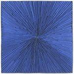 Marcos Coelho Benjamim Quadrado Azul Objeto em zinco pintado em azul 50 x 50 cm.