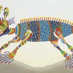 Animal Mitológico Óleo s/ tela 65 x 100 cm, 2001.