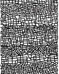 Composição em preto e branco Acrílica s/ tela 180 x 60 cm.