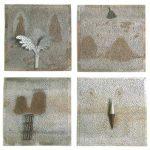 Marcos Coelho Benjamin Quadrados Placas de zinco 35 x 35 cm (cada), 2000