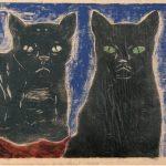 Osvaldo Goeldi Sem título Xilogravura 24 x 31 cm, 1970