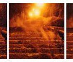 Otávio Schipper Escadas – Tríptico 1/5 Fotografia colorida 50 x 150cm, sem data
