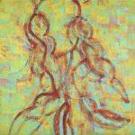 Sylvia Martins Sol e samba OST 127 x 127cm, 2000