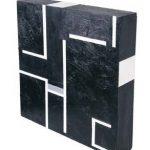 Eduardo Sued Quadrado Preto OSM 30 x 29 x 5 cm, 2004
