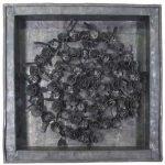 Fernando Lucchesi Coroa de Flores Objeto em Chumbo 33 x 33 cm, 2001