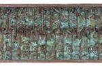 Fernando Lucchesi Jardins das Flores Objeto em cobre 40 x 160 cm, 2001