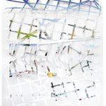 Fábio Carvalho Mapeamento da arte brasileira Impresso recortado, montado sobre papel canson 22 x 31 cm, 2007