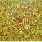 Luiz Fernando Borgerth Folhagens Acrílica sobre tela 30 x 40 cm, 2004