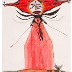 Fabiana Arruda Sem título Desenho em técnica mista 30 x 21 cm, 2008