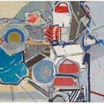 Lucia Laguna Paisagem Óleo e acrílica sobre tela 111 x 130 cm, 2008