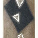 Lueur du Noir Gravura em metal 17 x 9,5 cm