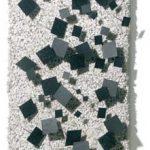 N° 1611 Relevo em metal sobre sisal 30 x 17 cm, 1983