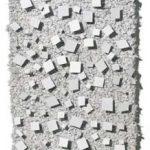 N° 1615 Relevo em metal sobre sisal 30 x 17 cm, 1983