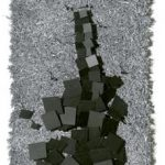 N° 168 Relevo em metal sobre sisal 30 X 17 cm, 1983