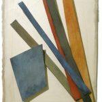 Sem Título Colagem e aquarela sobre papel 38,5 x 30 cm, 2003