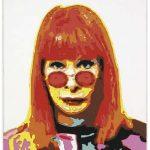 Camille Kachani Rita Lee Placas de borracha e.v.a. sobre MDF 100 x 90 cm, 2004.