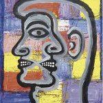 Victor Arruda Até o Pescoço Óleo s/ tela 130 x 100 cm, 1997.