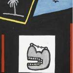 Victor Arruda Pão de Açucar com Coqueiro e Luar Óleo s/ tela 80 x 60 cm, 1994.