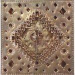 Objeto com Astrolábio Cobre 40 cm x 40 cm, 2002