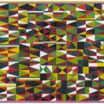 Gros Poisson, Petit Poisson Têmpera e colagem s/ tela 97 x 195 cm