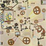 Série Invenções Óleo e Têmpera sobre tela 82 x 71 cm