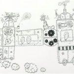 Série Invenções Nanquim 25 x 36 cm