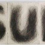 Carmela Gross SUL Gravura em metal (conjunto de 3 gravuras) – 25 exemplares 53 x 40cm, 2002