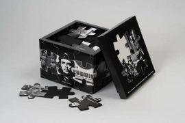 Regina Silveira To be continued…. (latin american puzzle) Papelão impresso – 600 exemplares 27 x 27 x 21cm, 2001