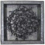 Fernando Lucchesi, Árvore da Vida, Objeto em chumbo, 33 x 33 cm, 2001.