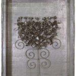 Fernando Lucchesi, Árvore da Vida, Objeto em chumbo, 50 x 40 cm