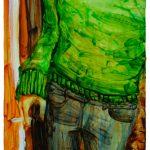 Adams Carvalho Faceless 27 Óleo Sobre Tela 40 x 30 cm, 2011.