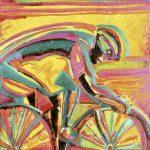 A Mais Nova Bike da História n° 1 Acrílica e óleo sobre tela 40 x 40 cm, 2004