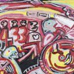 Bus Acrílica e óleo sobre tela 50 x 70 cm