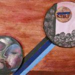 Círculos da Matéria – Memory Acrílica e óleo sobre tela 50 x 70 cm, 2004