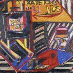 Caixa de Todos Nós Acrílica e óleo sobre tela 81 x 100 cm