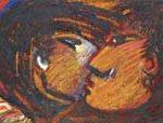 Sem Título Acrílica e óleo sobre tela 50 x 150 cm