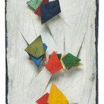 417, Aquarela e Colagem, 11,5 x 7,5 cm
