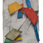 460, Aquarela e Colagem, 11 x 8 cm