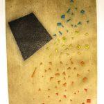 Inexorable Chute, Gravura em Metal, 76 x 38 cm, Edição 25/99.