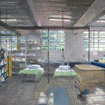 Victor Mattina, Contaminação (série indolor), óleo sobre tela, 150,5 x 227 cm, 2016.