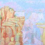 Felipe Góes, Pintura 266, Acrílica e Guache sobre tela, 120 x 160 cm, 2015.
