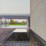 Jens Hausmann, Deutsches Wasses, Óleo sobre tela, 160 x 110 cm, 2016